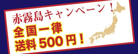 送料全国一律500円